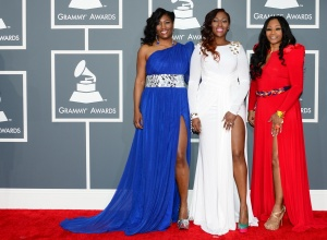 Celebrity Trend Couture worn by SWV at the GRAMMYS.